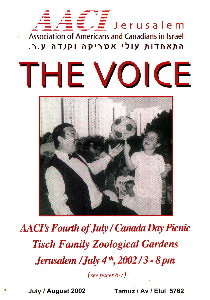 Cover of Voices Magazine